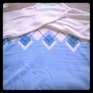 Other - 🚨 Men Sweater Light Blue and white